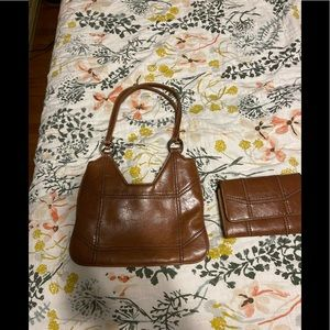 Vintage Express purse and matching wallet